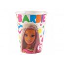 Barbie birthday cups - 226 ml - 8 items