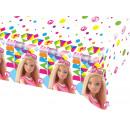 Barbie birthday tablecloth - 120x180 cm - 1 item