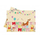 Winnie the Pooh Party birthday tablecloth - 120 x