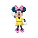 Walking foil balloon Mouse Minnie - 96 x 132 cm