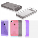 Silicone Case Pink Iphone 6+