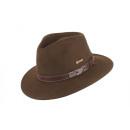 Wełniana czapka Norton brązowa rozmiar XL