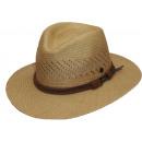 Sombrero de Panamá Riobamba Panamá camel Talla M