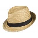 Sombrero de Paja Patatas Negras Talla Natural Tall