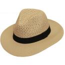 Bonnet d'été Aquilo nature taille S / M