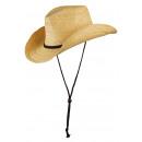 Cappello estivo Cattleman naturale naturale taglia
