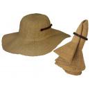 Cappello estivo Carina sabbia taglia S / M