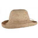 Straw hat Kura natural size L / XL