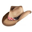Cappello estivo El Paso marrone taglia S / M