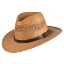 Cappello estivo Santos tabacco taglia S / M