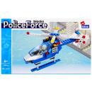 Großhandel Spielwaren: Bauklötze Alleblox Polizei 122el 27x17x