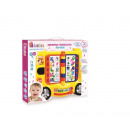 bam bam educational toy bus 18 / 36plpl