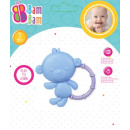 bam bam rattle / monkey teether 0 /