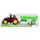 mayorista Juguetes: tractor pull back + accesorios 38x13x11 1218 2 pol