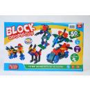 wholesale Toys: construction blocks 50el 868 6 pcs
