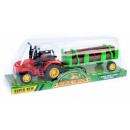 mayorista Juguetes: tractor pull back + accesorios 35x12x10 1121 1a