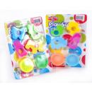 plastic mass 2 colors + accessories 15x25 9104ab
