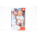 caja de la muñeca 35cm bebé + accesorios 201514 ca