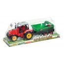 hurtownia Zabawki: traktor pull back + akcesoria 34x13x11 abc1 b8