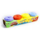 groothandel Stationery & Gifts: plastische massa 4 kleuren 25x6x5 ql e79 tuba