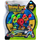 shield with a ball / darts 34x39 30 10 blister vel
