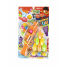 wholesale Toys: ball gun + accessories 25x43x4 648f blister