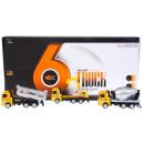 automatikus fém teherautó húzza vissza 12cm my66 a