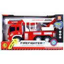 Auto Feuerwehrauto Sound / Licht zurückziehen 32x1
