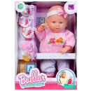 interactive doll box 35cm baby + accessories 8699