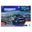 Großhandel Spielwaren: Auto Track met + Box + Zubehör 36x25x7 663