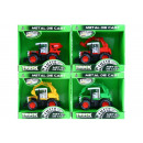 metal tractor pull back + accessories 13x12x8 815
