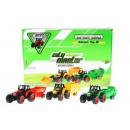 metal tractor pull back + accessories 19cm 158 di