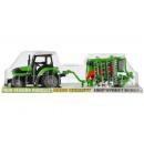 Traktor zurückziehen + Zubehör 55x15x15 666 121a /