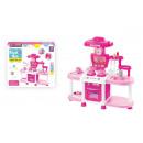 groothandel Speelgoed: keukendoos + accessoires 40x35x9 690 pud