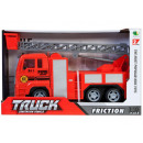 fire truck pull back 27x18x10 89002b 5 window