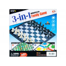 wholesale Parlor Games: chess game magn 3in1 27x27x5 s4401 pud