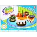 plastic mass + accessories 35x26x6 726a 1 pu cake
