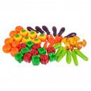 fruits / vegetables, styrofoam 21x24 3341 mesh