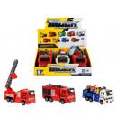 auto fire truck sound / light pull back 25cm 8900