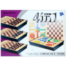 wholesale Parlor Games: chess game magn 4w1 24x18x4 6228 pud