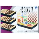 jeu d'échecs magn 4in1 31x22x4 6328 pud