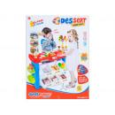 nagyker Játékok: szupermarket doboz + kiegészítők 42x56x14 668 21 p