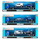 camion en métal automatique 28x9x4 tn 1045b police