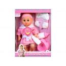 Puppenbox 35cm Baby + Zubehör hx313 Fensterbox