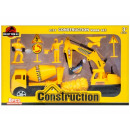 construction machine pull back + accessories 30x19