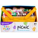 mayorista Casa y cocina: Canasta de picnic de frutas / verduras 23x16x15 yh