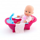doll box 25cm baby + accessories 8921 window box