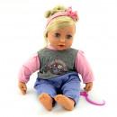 Puppenkiste 40cm Baby + Zubehör 6880 Fensterbox