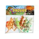 nagyker Játékok: gumi dinoszaurusz + kiegészítők 29x27x5 d836 2 wor