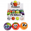 wholesale Sports & Leisure: anti-stress ball 7cm fruit foil